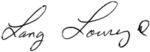L Lowrey Signature